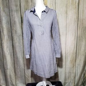 Lilly Pulitzer Navy & White Stripe Dress size 6